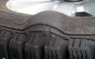 Можно ли отремонтировать грыжу на шине