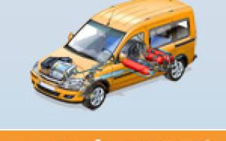 Штраф за переоборудование авто на газ