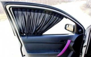 Сетка на окна автомобиля вместо тонировки штраф