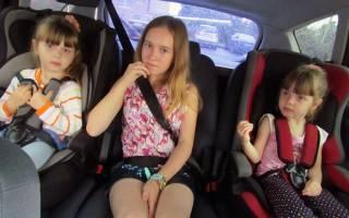 Сколько штраф если ребенок без автокресла?