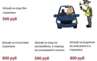 Езда без ОСАГО после покупки машины