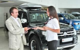 Покупка машины в автосалоне пошагово