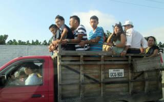 Какой штраф за перевозку людей в фургоне?