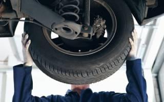 Виды износа шин и причины