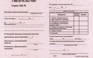 Какие документы выдаются после окончания автошколы?