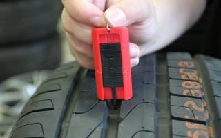 Как определить износ летних шин