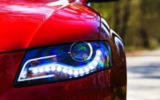 Разрешены ли светодиодные лампы ближнего света?